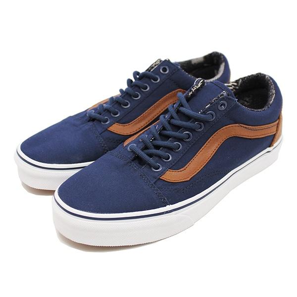 【バンズ】 バンズ オールドスクール [サイズ:27cm(US9)] [カラー:ドレスブルー×マテリアルミックス] #VN0A38G1MVE 【靴:メンズ靴:スニーカー】【VN0A38G1MVE】