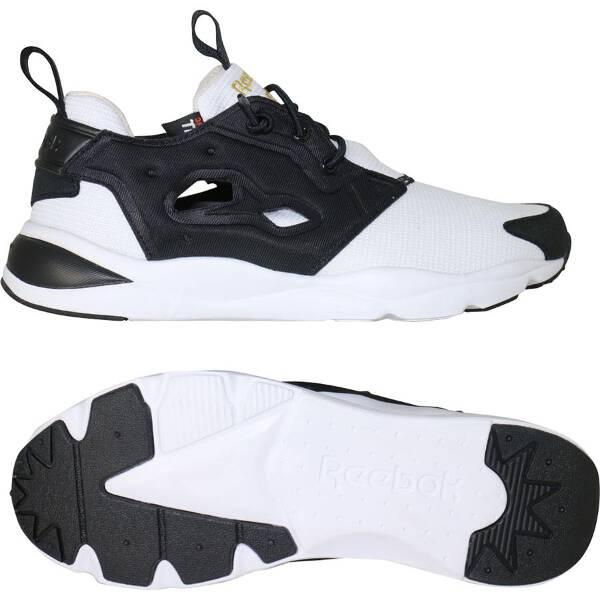【リーボック】 FURYLITE TECH(フューリーライトテック) [サイズ:24.0cm] [カラー:ブラック×ホワイト] #AQ9016 【靴:メンズ靴:ウォーキングシューズ】