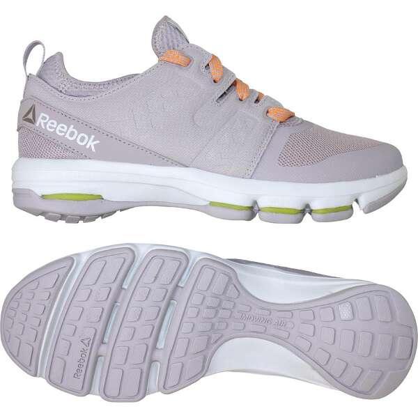 【リーボック】 クラウドライド DMX [サイズ:24.0cm] [カラー:ウィスパー×ファイアースパーク×ホワイト] #BD4436 【靴:メンズ靴:ウォーキングシューズ】