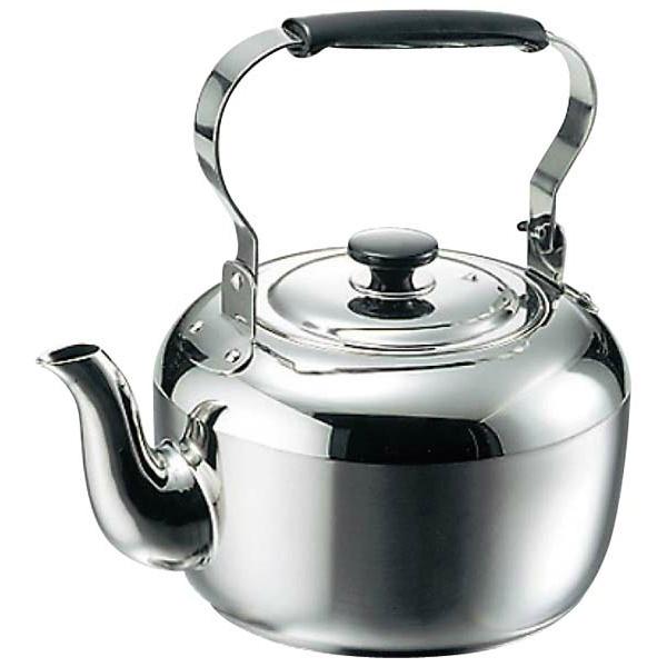 【タケコシ】 MA 18-8 電磁用 ケットル 10.0L 【キッチン用品:調理用具・器具:やかん(ケトル)】