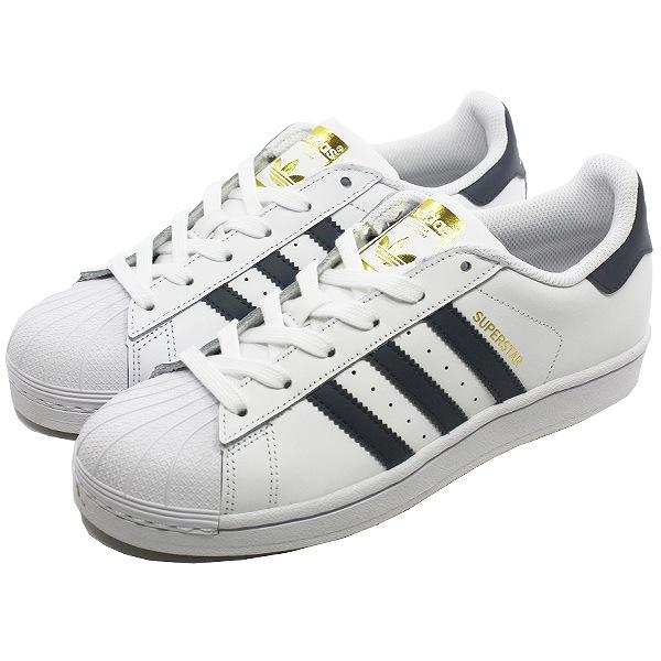 【アディダス】 アディダス スーパースターW (ウィメンズ) [サイズ:25cm] [カラー:ホワイト×グレー×ゴールド] #BY3922 【靴:レディース靴:スニーカー】【BY3922】