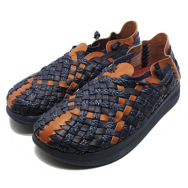 【5%off+最大3000円offクーポン(要獲得) 5/19 9:59まで】 【送料無料】 MALIBU×MISSONI LATIGO [サイズ:26cm(US9)] [カラー:ネイビー×ウィスキー] #MM-1702 【マリブサンダルズ: 靴 メンズ靴 サンダル】【MALIBU SANDALS MALIBU SANDALS LATIGO NAVY/WHISKEY】