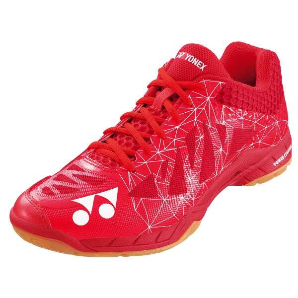 【ヨネックス】 パワークッションエアラス 2 メン バドミントンシューズ [サイズ:25.5cm] [カラー:レッド] #SHBA2M-001 【スポーツ・アウトドア:バドミントン:シューズ:メンズシューズ】