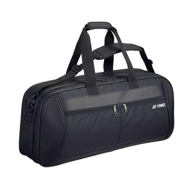 【ヨネックス】 トーナメントバッグ(テニスラケット2本用) BAG1811W [カラー:ブラック] #BAG1811W-007 【スポーツ・アウトドア:テニス:ラケットバッグ】