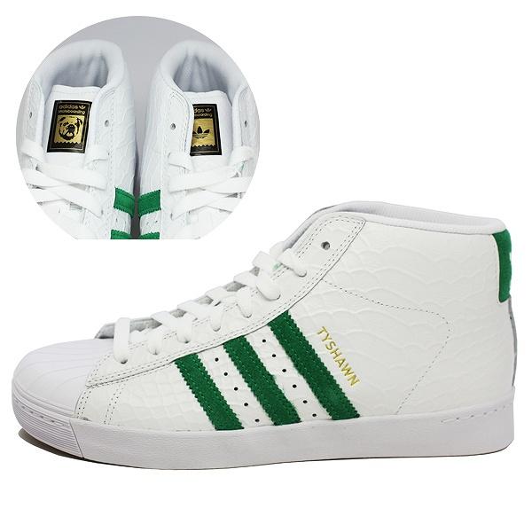 【アディダス】 アディダス スケートボーディング プロモデル バルカ [サイズ:29cm(US11)] [カラー:ホワイト×グリーン×ホワイト] #CG4274 【靴:メンズ靴:スニーカー】【CG4274】