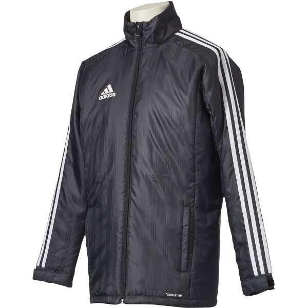 【アディダス】 SHADOW ウォーマージャケット(中綿) [サイズ:L] [カラー:ブラック] #DLK14-BR2068 【スポーツ・アウトドア:サッカー・フットサル:メンズウェア】