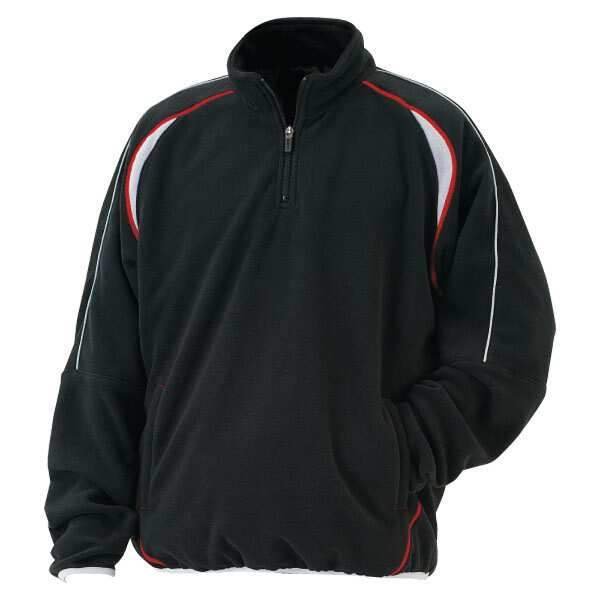 【ゼット】 フリースジャケット(裏タフタ付) [サイズ:XO] [カラー:ブラック] #BOF110A-1900 【スポーツ・アウトドア:野球・ソフトボール:ウェア】