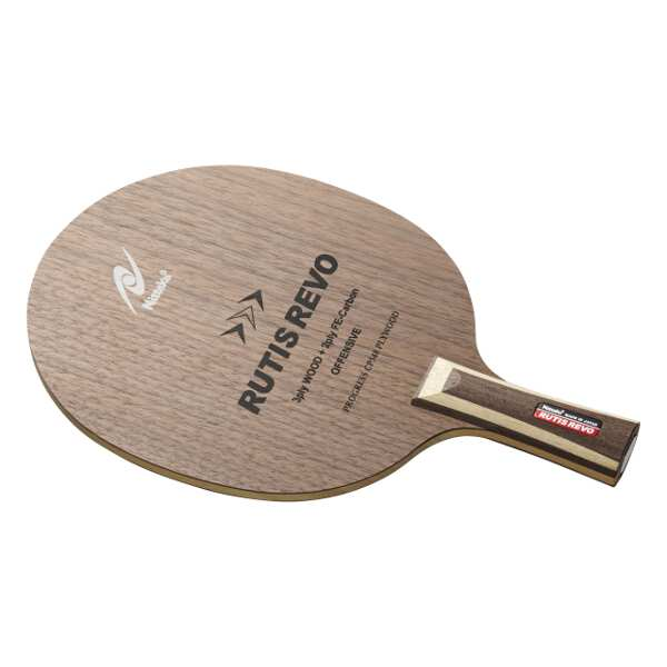 【ニッタク】 中国式ペンラケット RUTIS REVO C(ルーティス レボ 中国式ペン) #NC-0199 【スポーツ・アウトドア:その他雑貨】