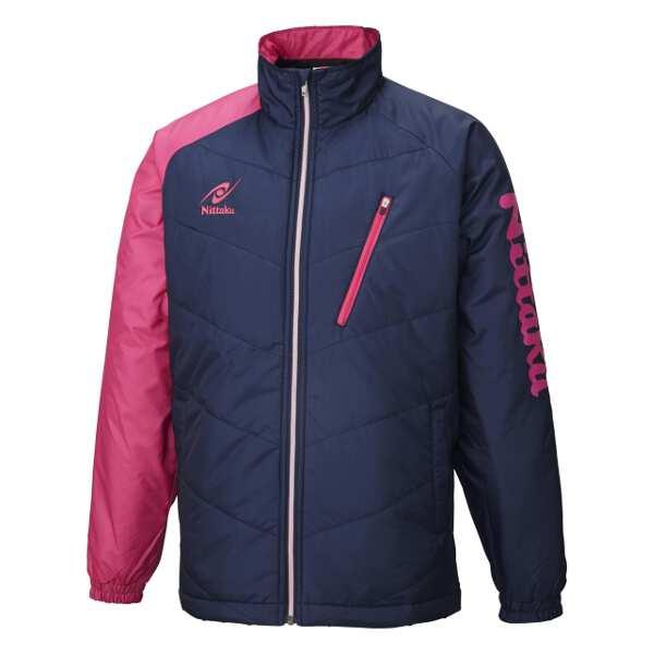 【ニッタク】 ホットウォーマーANVシャツ [サイズ:O] [カラー:ピンク] #NW-2850-21 【スポーツ・アウトドア:卓球:ウェア:メンズウェア:シャツ】