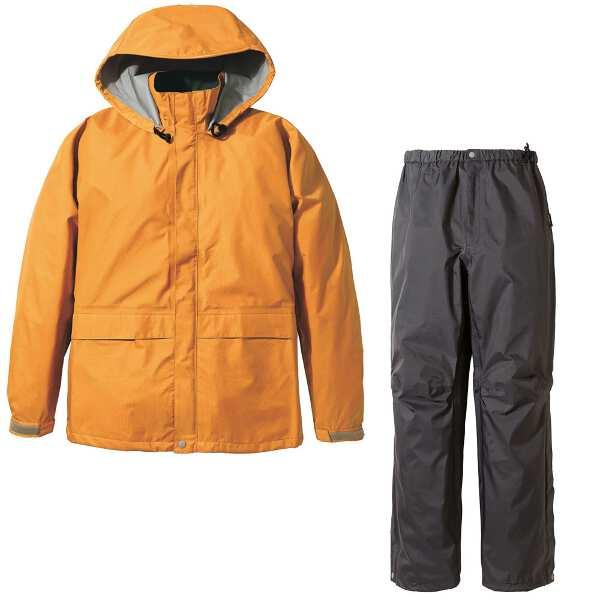 【プロモンテ】 ゴアテックス レインスーツ メンズ [サイズ:L] [カラー:オレンジ×チャコール] #SR135M-OR 【スポーツ・アウトドア:スポーツ・アウトドア雑貨】