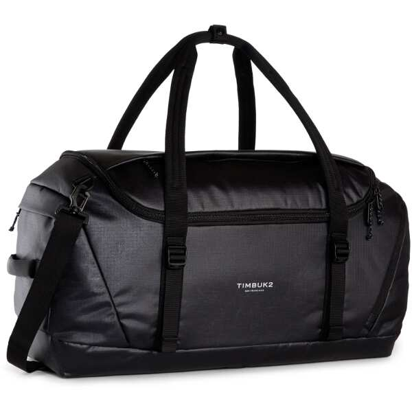 【ティンバック2】 クエストダッフル L [カラー:ジェットブラック] [容量:約66L] #252366114 【スポーツ・アウトドア:アウトドア:バッグ:ボストンバッグ・ダッフルバッグ】