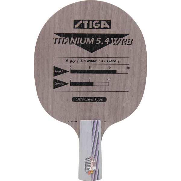 【スティガ】 中国式ラケット チタニウム 5.4 WRB PEN(ペンホルダー) #209165 【スポーツ・アウトドア:その他雑貨】
