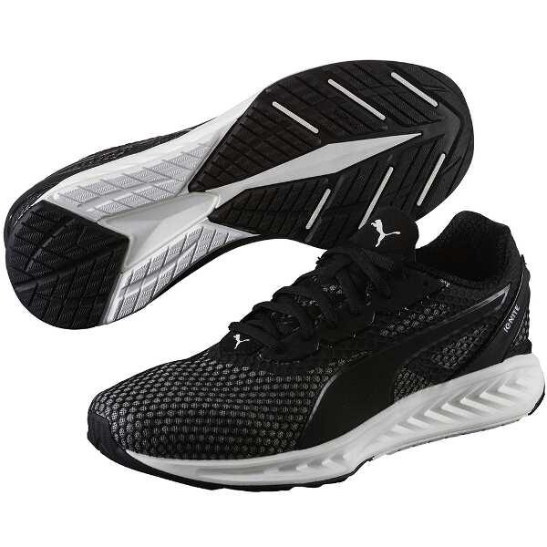 【プーマ】 プーマ イグナイト V3 [サイズ:27.5cm] [カラー:ブラック×クワイエットシェード] #189449-05 【スポーツ・アウトドア:ジョギング・マラソン:シューズ:メンズシューズ】