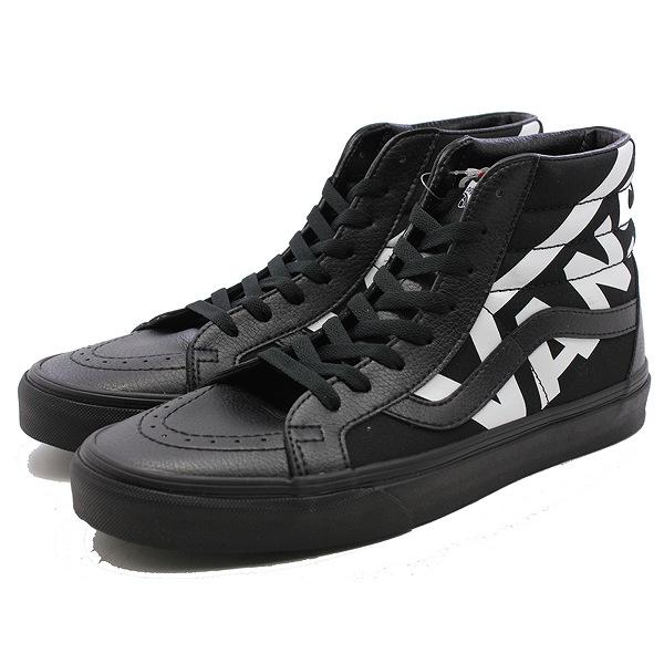 【バンズ】 バンズ スケートハイ リシュ― (バンズ) [サイズ:28.5cm(US10.5)] [カラー:ブラック×トゥルーホワイト] #VN0A2XSBQW7 【靴:メンズ靴:スニーカー】【VN0A2XSBQW7】