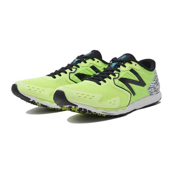 【ニューバランス】 NB HANZO S M H1 ランニングシューズ [サイズ:27.0cm(2E)] [カラー:ハイライト×ブラック] #MHANZSH1 【スポーツ・アウトドア:その他雑貨】