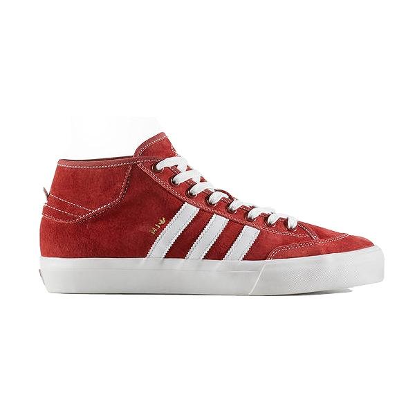 【アディダス】 アディダス スケートボーディング マッチコートミッド [サイズ:29cm(US11)] [カラー:レッド×ホワイト] #CG5670 【靴:メンズ靴:スニーカー】【CG5670】