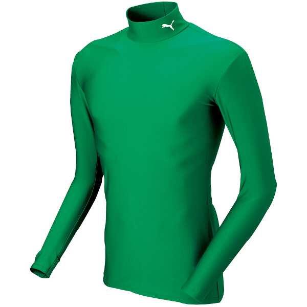 COMPRESSION モックネック LSシャツ [サイズ:L] [カラー:パワーグリーン×ホワイト] #920480-06