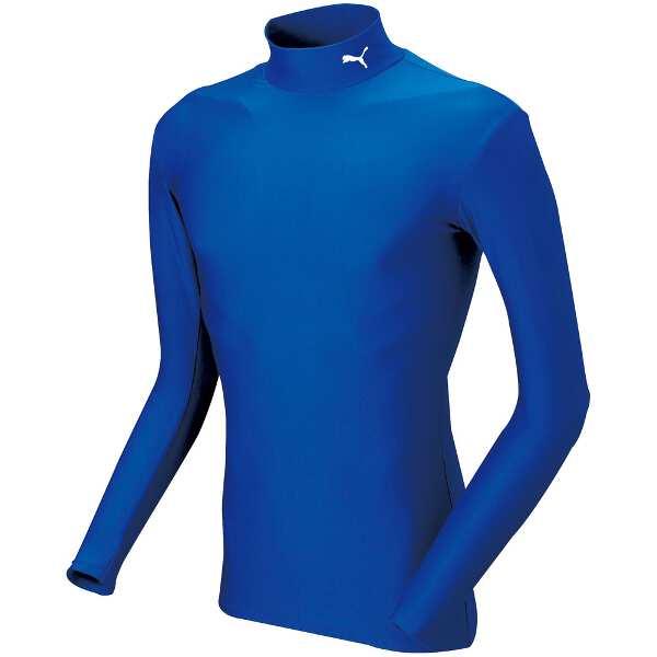 COMPRESSION モックネック LSシャツ [サイズ:M] [カラー:チームローヤル×ホワイト] #920480-04