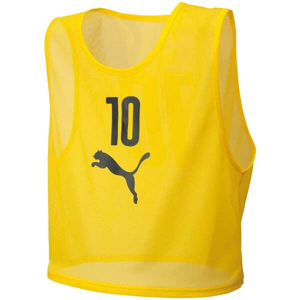 【プーマ】 ビブスセット(10枚組) [サイズ:XXS] [カラー:サイバーイエロー] #920604-04 【スポーツ・アウトドア:スポーツウェア・アクセサリー:ビブス・ゼッケン】