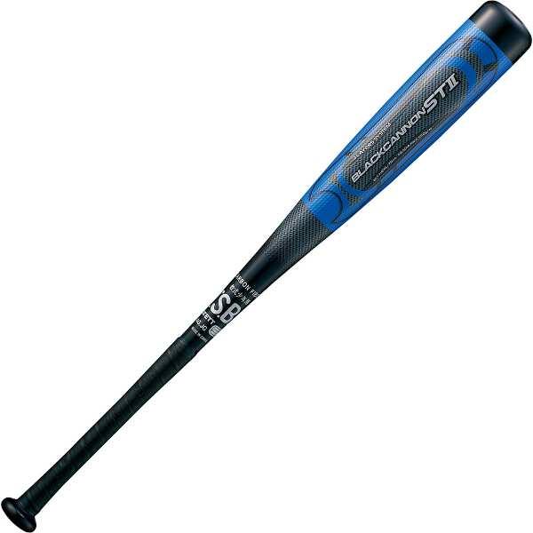 【ゼット】 野球用具 少年軟式用 FRPバット BLACKCANNON ST2(ブラックキャノン ST2) 76cm550g平均 [カラー:ブラック] #BCT71876-1900 【スポーツ・アウトドア:その他雑貨】