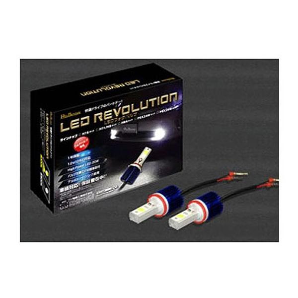 【フジ電気工業】 Bullcon LEDフォグバルブ H16 6500K #SLL‐F16W 【カー用品:ライトランプ:ヘッドライト:LED】
