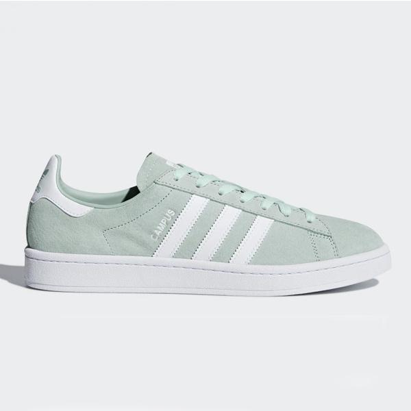【アディダス】 アディダス キャンパス [サイズ:27cm(US9)] [カラー:アッシュグリーン×ホワイト] #DB0982 【靴:メンズ靴:スニーカー】【DB0982】