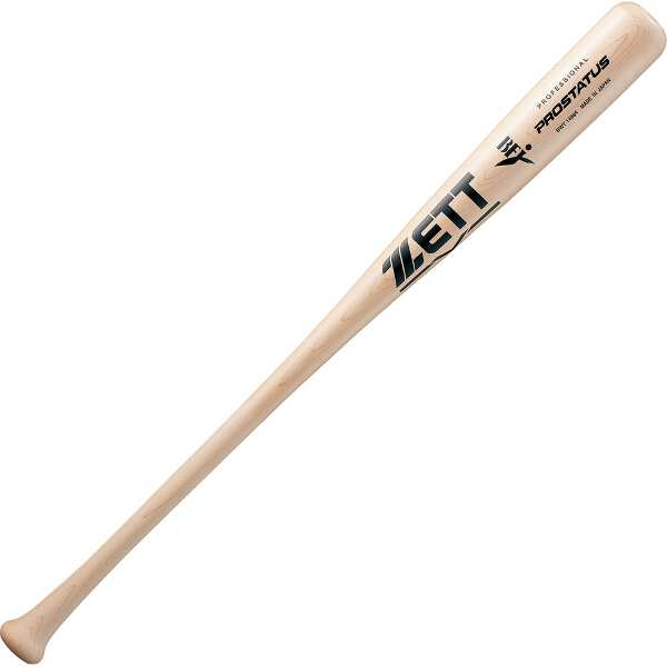【ゼット】 硬式野球木製バット PUROSTATUS(プロステイタス) 84cm890g平均 [カラー:ナチュラル] #BWT14884-1200MO 【スポーツ・アウトドア:その他雑貨】
