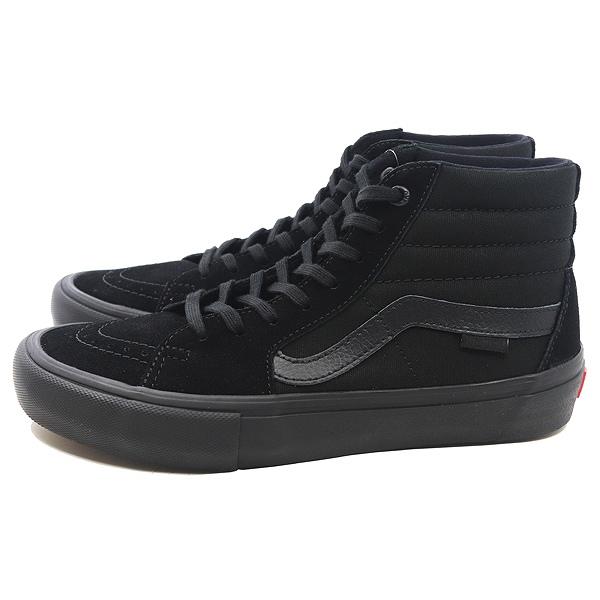 【バンズ】 バンズ スケートハイ プロ [サイズ:26.5cm(US8.5)] [カラー:ブラックアウト] #VN000VHG1OJ 【靴:メンズ靴:スニーカー】【VN000VHG1OJ】