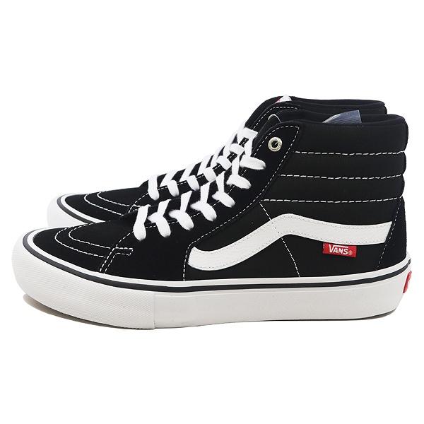 【バンズ】 バンズ スケートハイ プロ [サイズ:27cm(US9)] [カラー:ブラック×ホワイト] #VN000VHGY28 【靴:メンズ靴:スニーカー】【VN000VHGY28】
