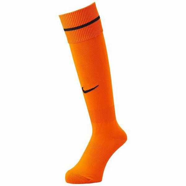 アカデミー ストライプ フットボールソックス [サイズ:25~27cm] [カラー:オレンジブレイズ×ブラック] #883335-835