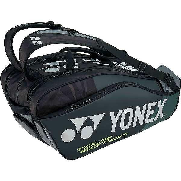 【ヨネックス】 ラケットバッグ9(リュック付) テニスラケット9本用 [カラー:ブラック] #BAG1802N-007 【スポーツ・アウトドア:テニス:ラケットバッグ】