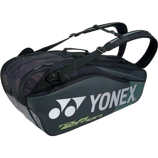 【ヨネックス】 ラケットバッグ6(リュック付) テニスラケット6本用 [カラー:ブラック] #BAG1802R-007 【スポーツ・アウトドア:テニス:ラケットバッグ】