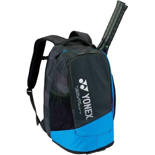 バックパック テニスラケット2本用 [カラー:ブラック×ブルー] #BAG1808-188