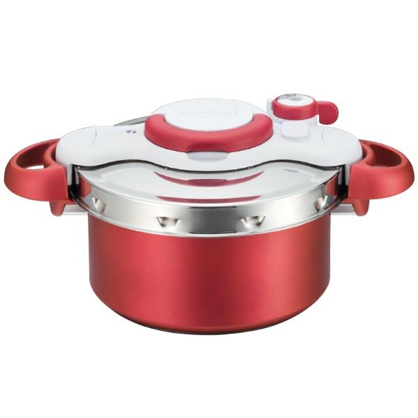 【ティファール】 ティファール クリプソ ミニット デュオ レッド 4.2L P4604236 【キッチン用品:調理用具・器具:圧力鍋:ティファール:IH対応】【ティファール】