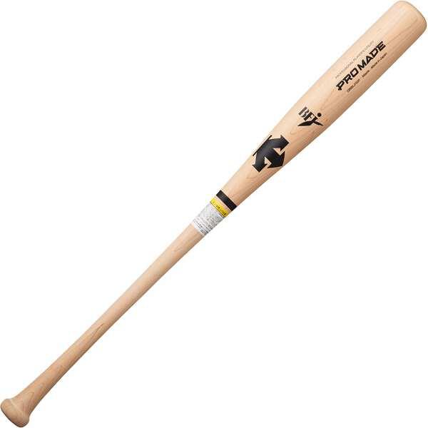 【デサント】 硬式野球木製バット [長さ:84cm] [カラー:ナチュラル] #DBBLJG00-NTU 【スポーツ・アウトドア:野球・ソフトボール:バット:大人用バット】