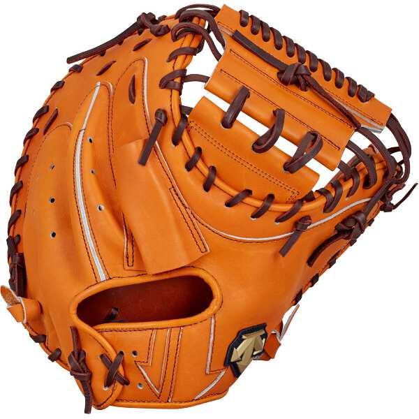 【デサント】 硬式野球キャッチャーミット 捕手用(右投げ用) [カラー:オレンジ] #DBBLJG42-ORG 【スポーツ・アウトドア:野球・ソフトボール:グローブ・ミット】
