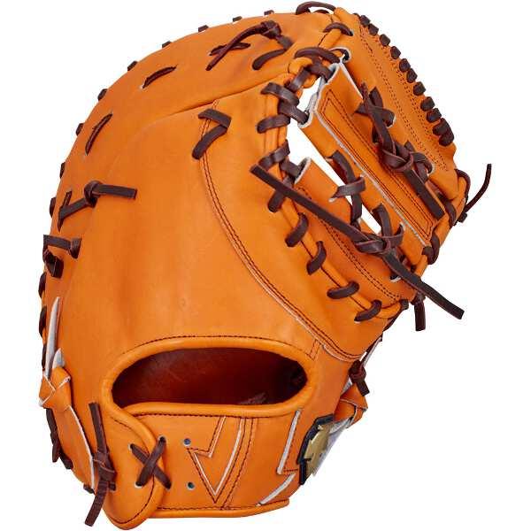 【デサント】 硬式野球ファーストミット 一塁手用(左投げ用) [カラー:オレンジ] #DBBLJG43-ORG 【スポーツ・アウトドア:野球・ソフトボール:グローブ・ミット】