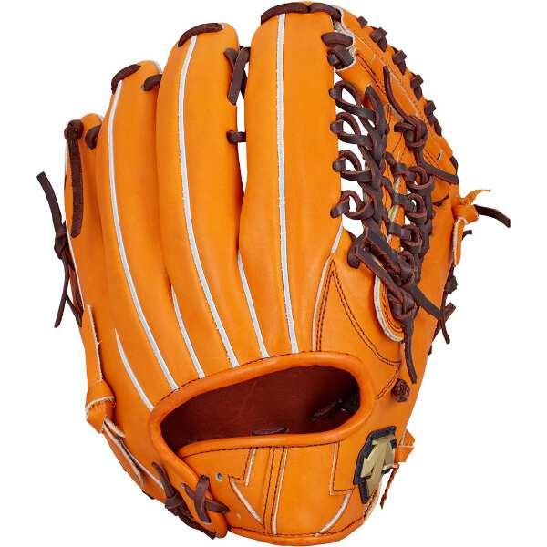 【デサント】 硬式野球グラブ 外野手用(左投げ用) [カラー:オレンジ] #DBBLJG47-ORG 【スポーツ・アウトドア:野球・ソフトボール:グローブ・ミット】
