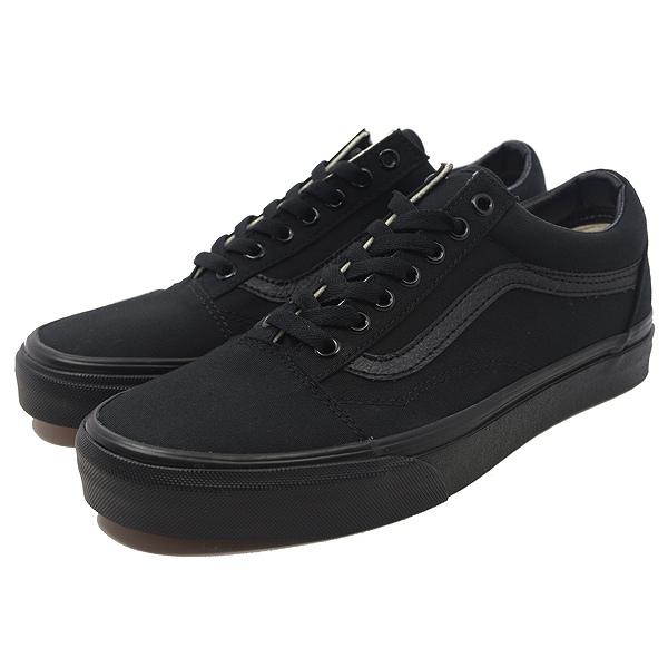 【バンズ】 バンズ オールドスクール [サイズ:26cm(US8)] [カラー:ブラック×ブラック] #VN000D3HBKA 【靴:メンズ靴:スニーカー】【VN000D3HBKA】