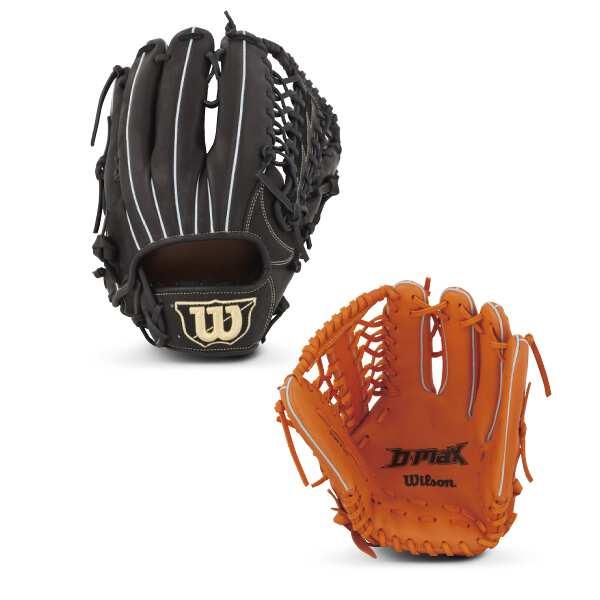 【ウィルソン】 (左投げ用)D-MAX 外野手用 一般軟式野球グラブ(左投げ) [カラー:Wオレンジ] [サイズ:11] #WTARDR7WFR-21 【スポーツ・アウトドア:野球・ソフトボール:グローブ・ミット】