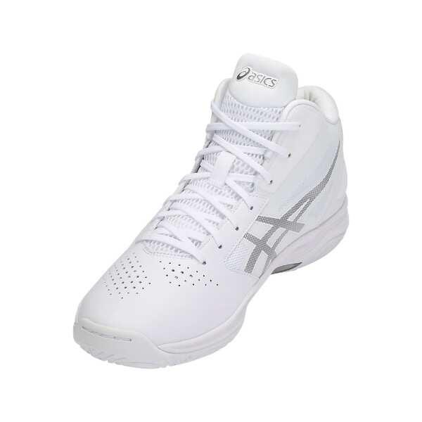 【アシックス】 ゲルフープ V10 ワイド バスケットボールシューズ [サイズ:23.0cm] [カラー:ホワイト×シルバー] #TBF340-0193 【スポーツ・アウトドア:その他雑貨】