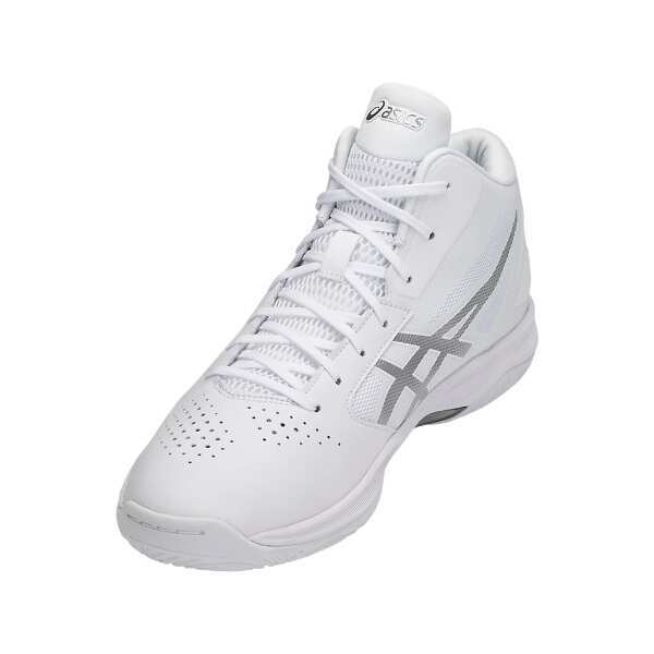 【アシックス】 ゲルフープ V10 バスケットボールシューズ [サイズ:23.5cm] [カラー:ホワイト×シルバー] #TBF339-0193 【スポーツ・アウトドア:その他雑貨】
