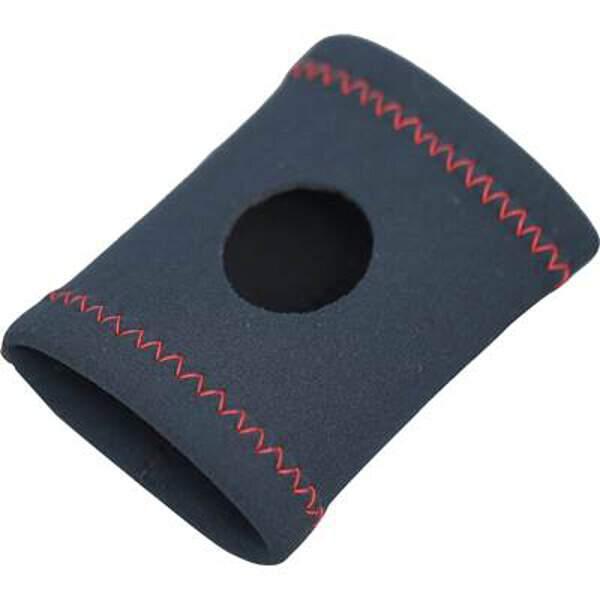 ランニングウォッチ用リストガード [カラー:ブラック×レッド] [サイズ:10×8cm] #1709-BKRD