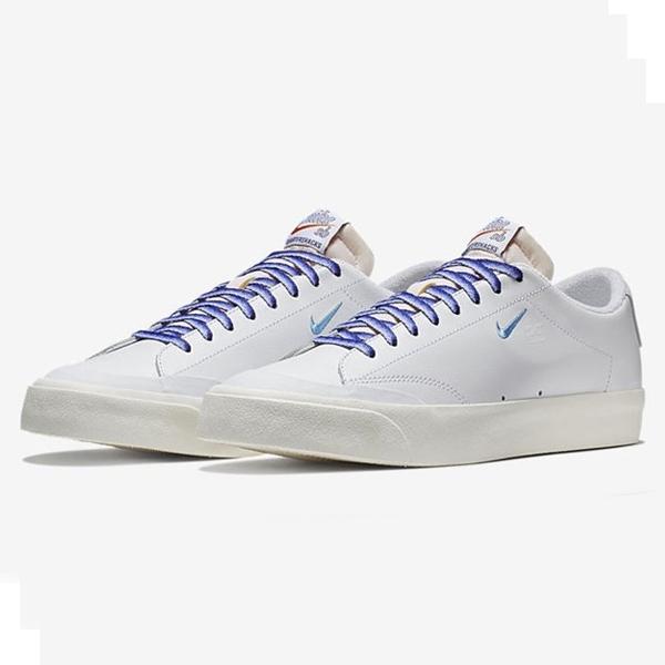 【ナイキ】 ナイキSB ズーム ブレザ― LOW XT QS [サイズ:26.5cm(US8.5)] [カラー:ホワイト×ユニバーシティブルー×セイル] #AQ3499-141 【靴:メンズ靴:スニーカー】【AQ3499-141】