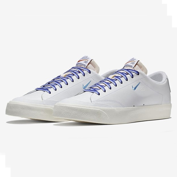【ナイキ】 ナイキSB ズーム ブレザ― LOW XT QS [サイズ:29cm(US11)] [カラー:ホワイト×ユニバーシティブルー×セイル] #AQ3499-141 【靴:メンズ靴:スニーカー】【AQ3499-141】