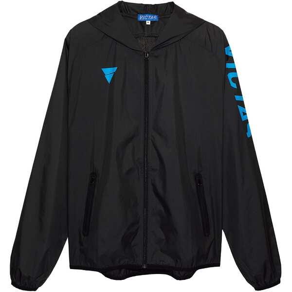 【ビクタス】 V‐NBJ061 ウィンドブレーカージャケット [サイズ:XL] [カラー:ブラック] #033157-0020 【スポーツ・アウトドア:卓球:ウェア:メンズウェア】