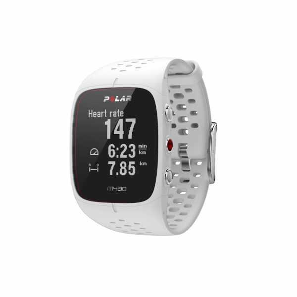 【1500円以上購入で300円クーポン(要獲得) 8/16 9:59まで】 【送料無料】 M430 国内正規品 心拍計内蔵GPSランニングウォッチ [カラー:ホワイト] [バンドサイズ:S] #90067354 【ポラール: スポーツ・アウトドア ジョギング・マラソン GPS】【POLAR】