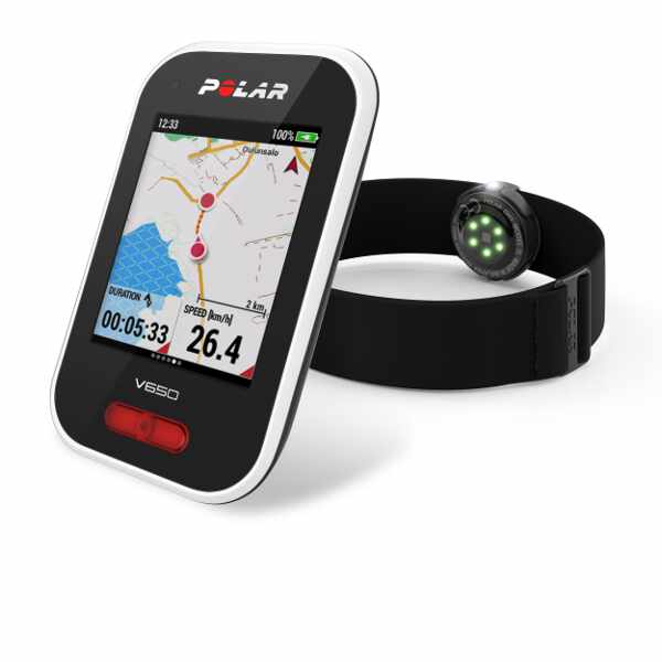 【ポラール】 V650 OH1心拍センサーセット 国内正規品 GPSサイクルコンピュータ― #90069012 【スポーツ・アウトドア:自転車・サイクリング:自転車用アクセサリー:サイクルコンピューター】