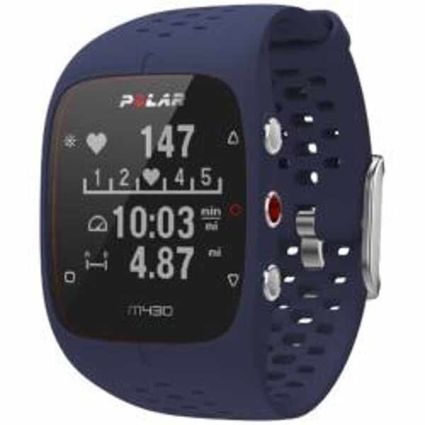 【ポラール】 M430 国内正規品 心拍計内蔵GPSランニングウォッチ [カラー:ブルー] [バンドサイズ:M/L] #90070082 【スポーツ・アウトドア:ジョギング・マラソン:GPS】