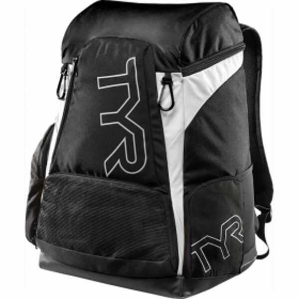 【ティア】 アライアンス 45L バックパック [カラー:ブラック×ホワイト] [サイズ:51×34×27cm(45L)] #LATBP45-001 【スポーツ・アウトドア:アウトドア:バッグ:バックパック・リュック】